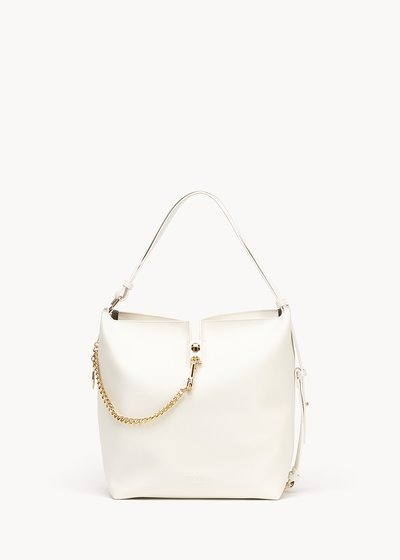Beth bucket bag with gold details