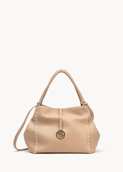 Betsy bag with contrasting stitching