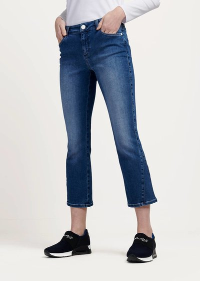 Patrik denim with side insets