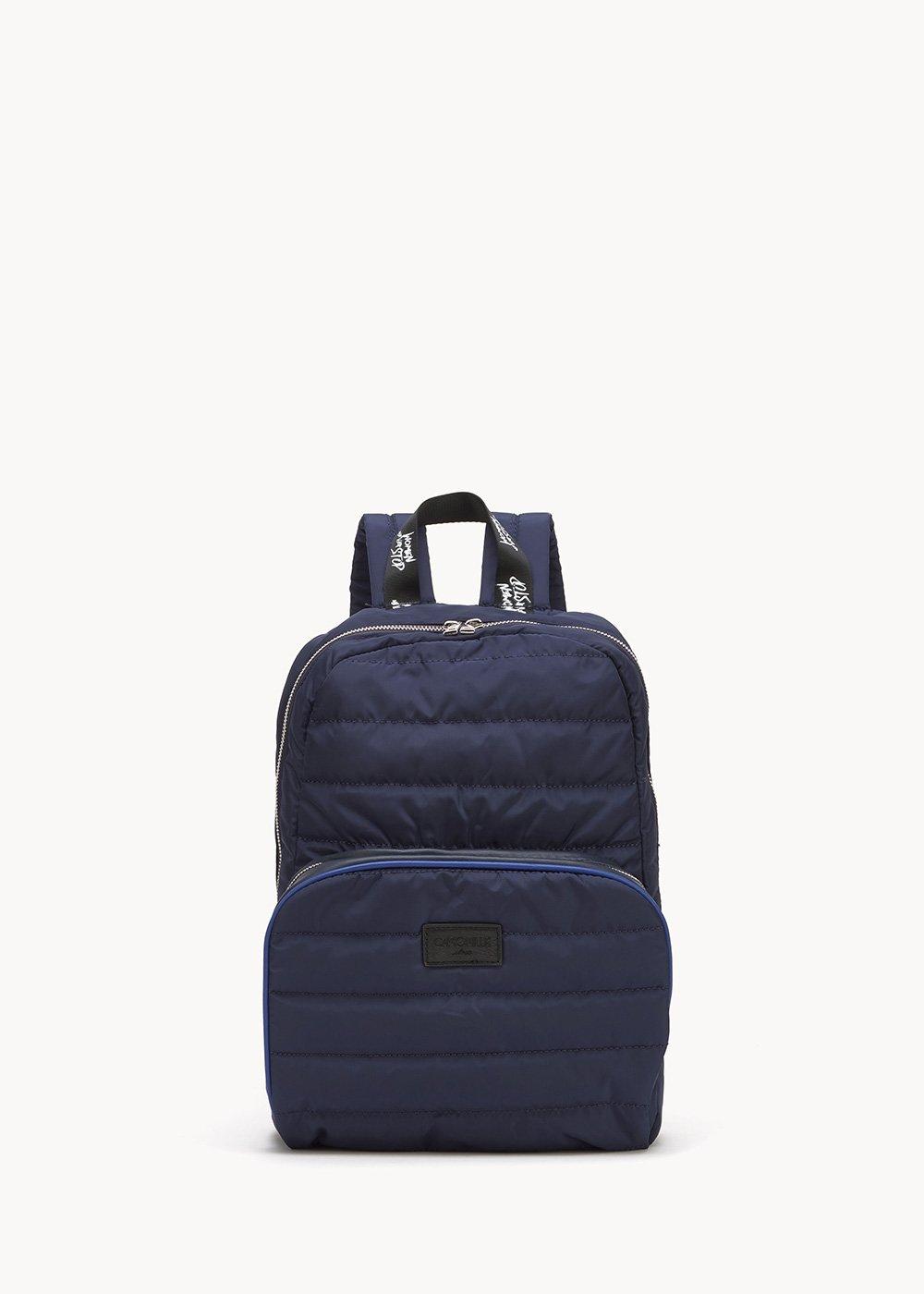 Boule nylon backpack - Medium Blue - Woman