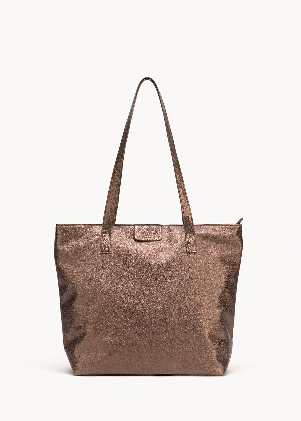 Shopping bag Badiax - Gun Metal - Donna