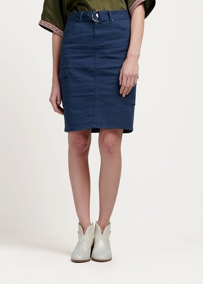 Gemma skirt with side pockets