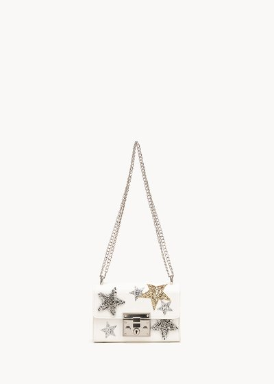 Bowes shoulder bag with star appliques