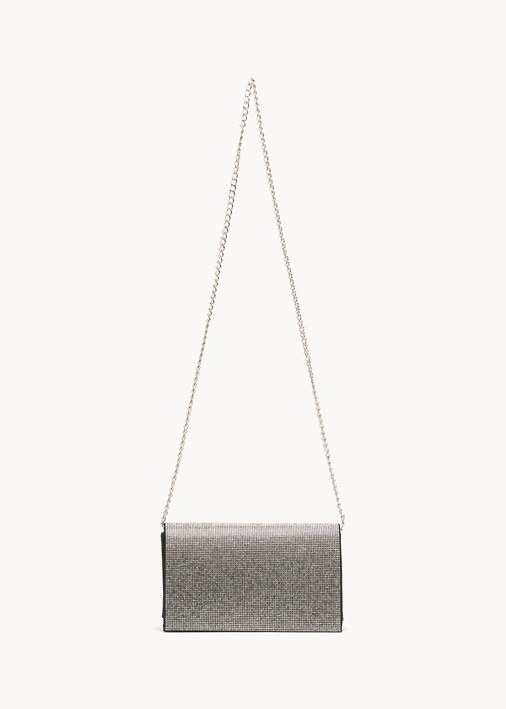 Clutch bag Britney con strass - Black - Donna