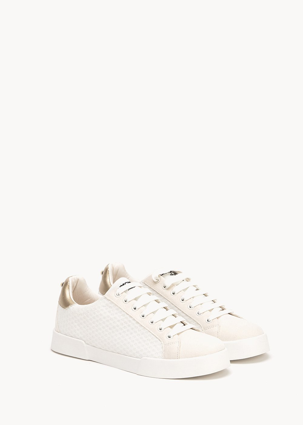 Sharon sneakers in technical fabric - coconut - Woman