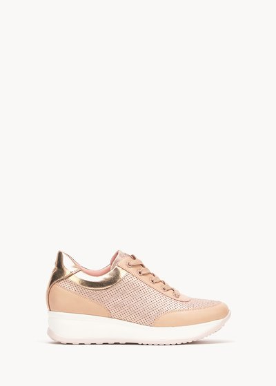 Shirl rose-coloured sneakers