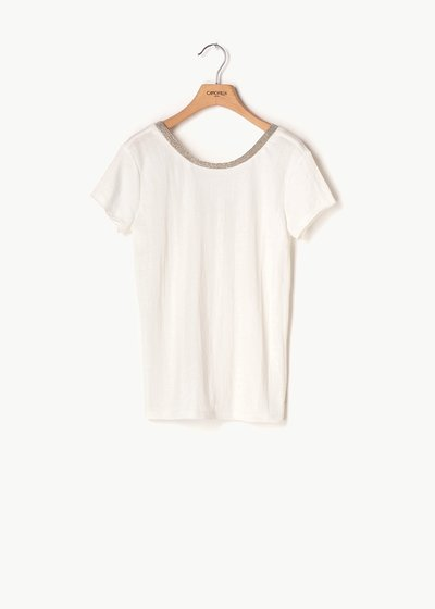 Sael T-shirt with round neck