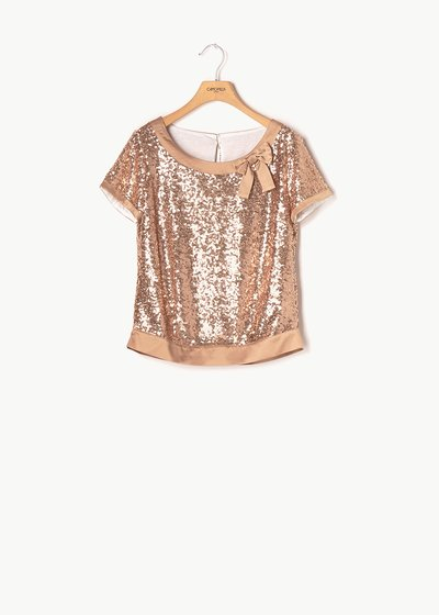 Sabrina T-shirt with sequins