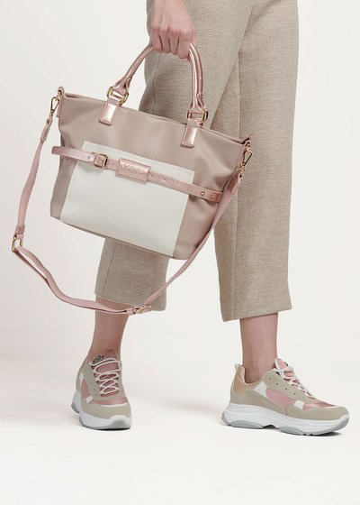 Hand bag Backy bi color