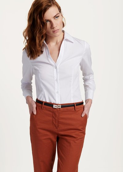 Carolina shirt in cotton poplin
