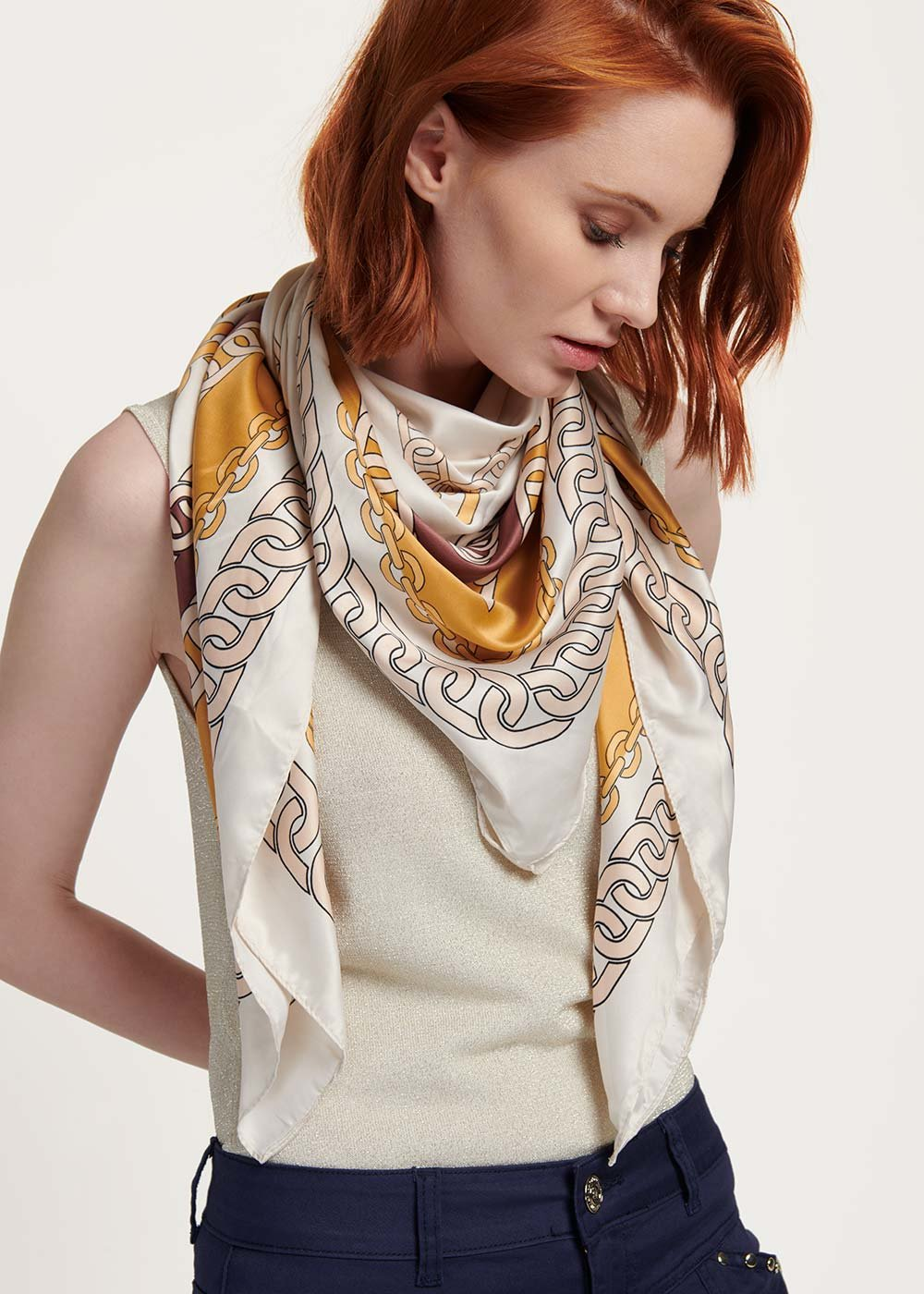 Sheryl patterned headscarf - Cocco Fantasia - Woman