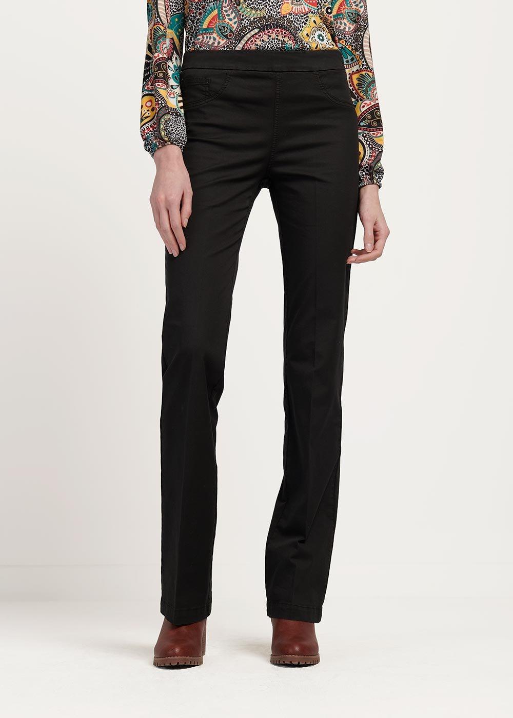 Victoria black trousers - Black - Woman