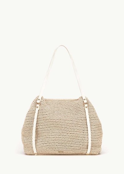 Bonita straw shopping bag