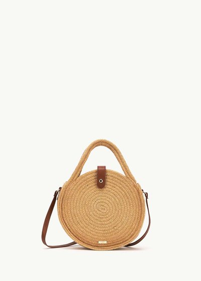 Betsey round cotton bag