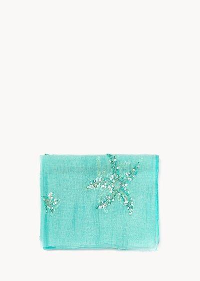 Sandie emerald scarf