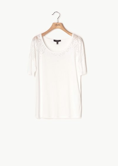 Stella embroidered T-shirt
