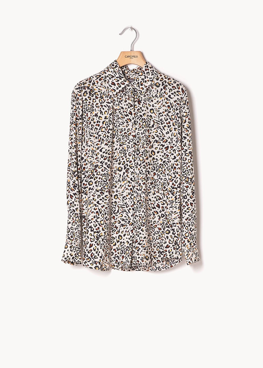 Alessia shirt with spotted print - Cocco / Timo Animalier - Woman