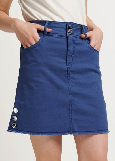 Gabriella air-force blue skirt