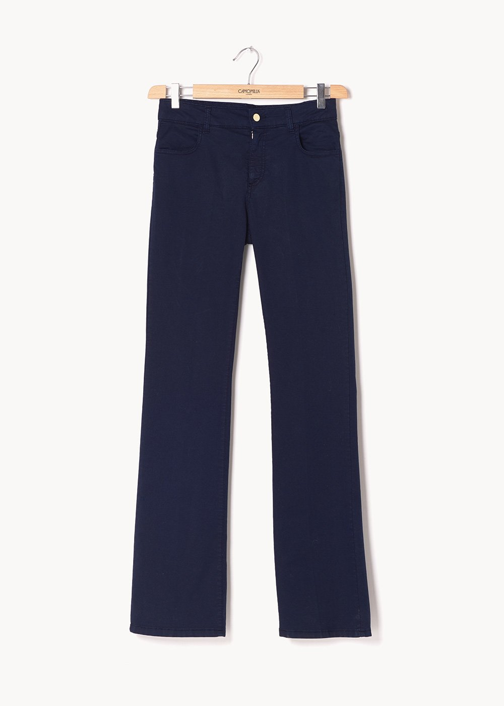Pantaloni modello Cindy gamba larga - Blue - Donna