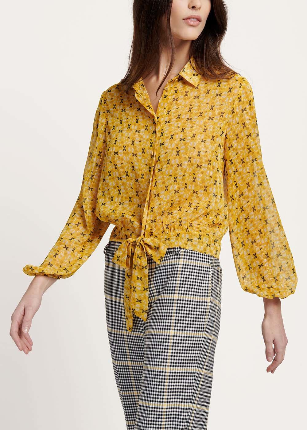 Cherry patterned shirt