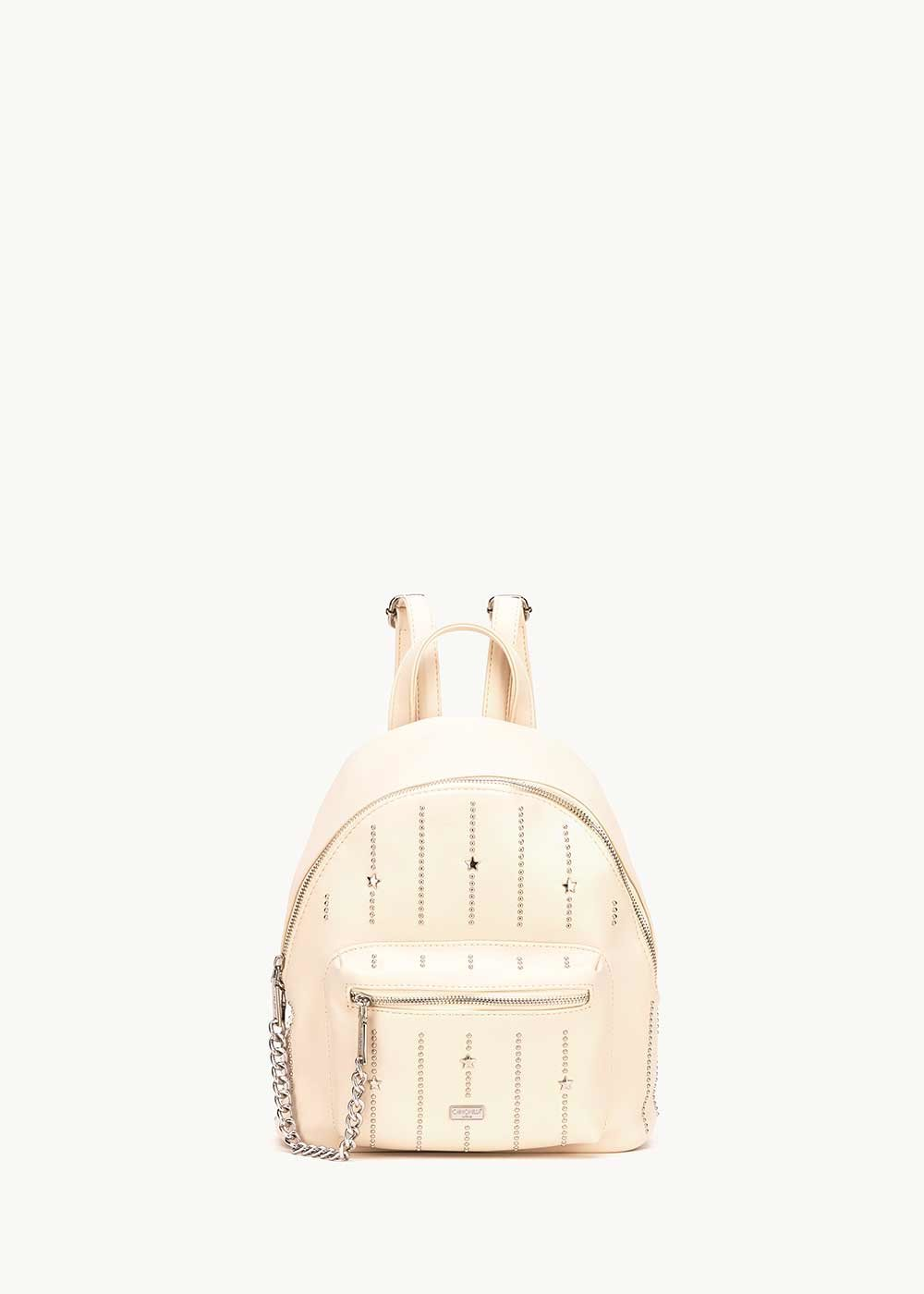 Brash backpack with metal inserts - coconut - Woman