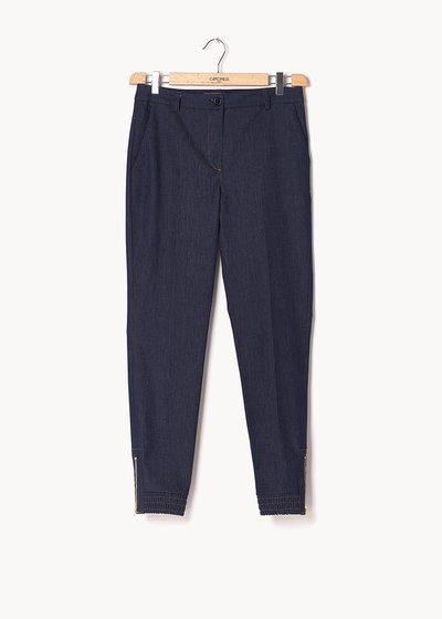 Pantalone modello Jane effetto denim