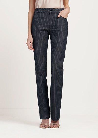Pantalone modello Cindy fantasia gessata
