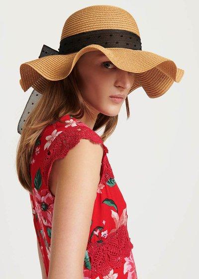 Cappello Calik con fascia a contrasto