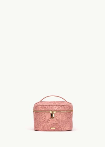 Babie vanity case with cashmere effect