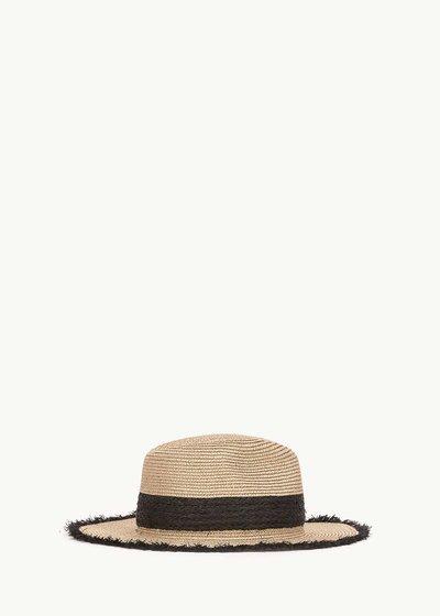 Cappello Cadys con fascia nera a contrasto