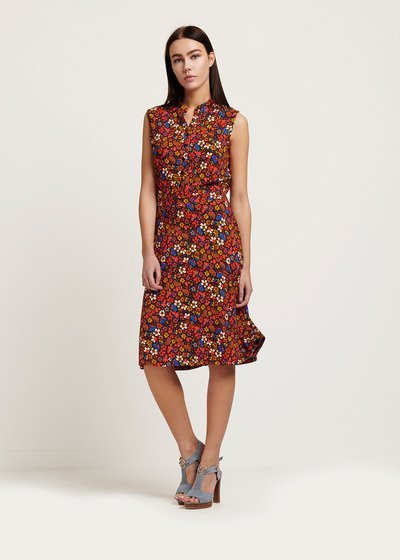 Arlen dress with mixed colours