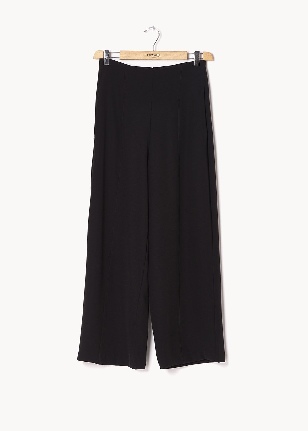Pantalone Pamel in tessuto cady - Black - Donna