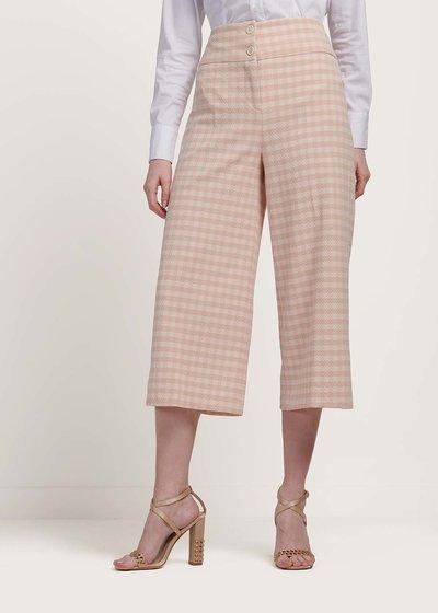 Pantalone modello Megan stampa check