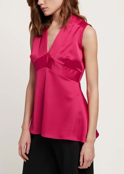 Trudie V-neck top