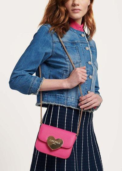 Bonny clutch bag with shoulder strap