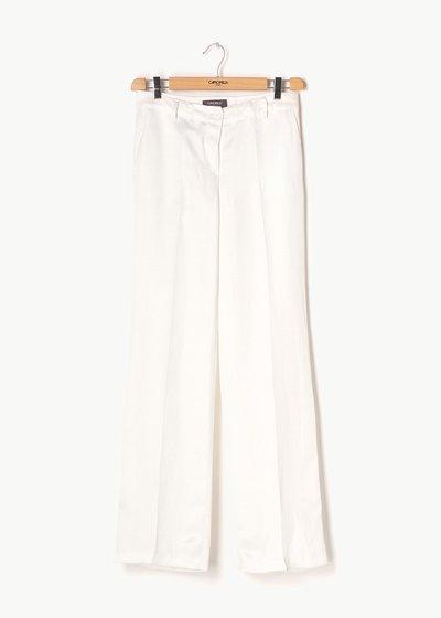 Pantalone modello Giorgia in tessuto misto lino
