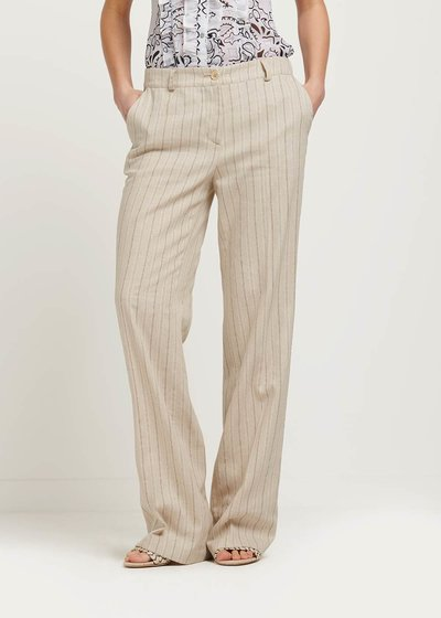 Ashley pinstriped trousers