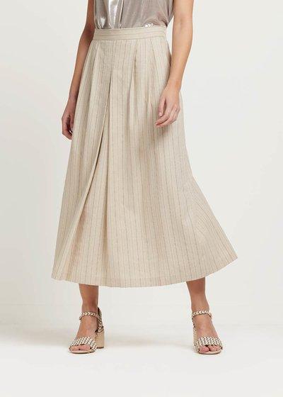 Gioia pinstriped skirt