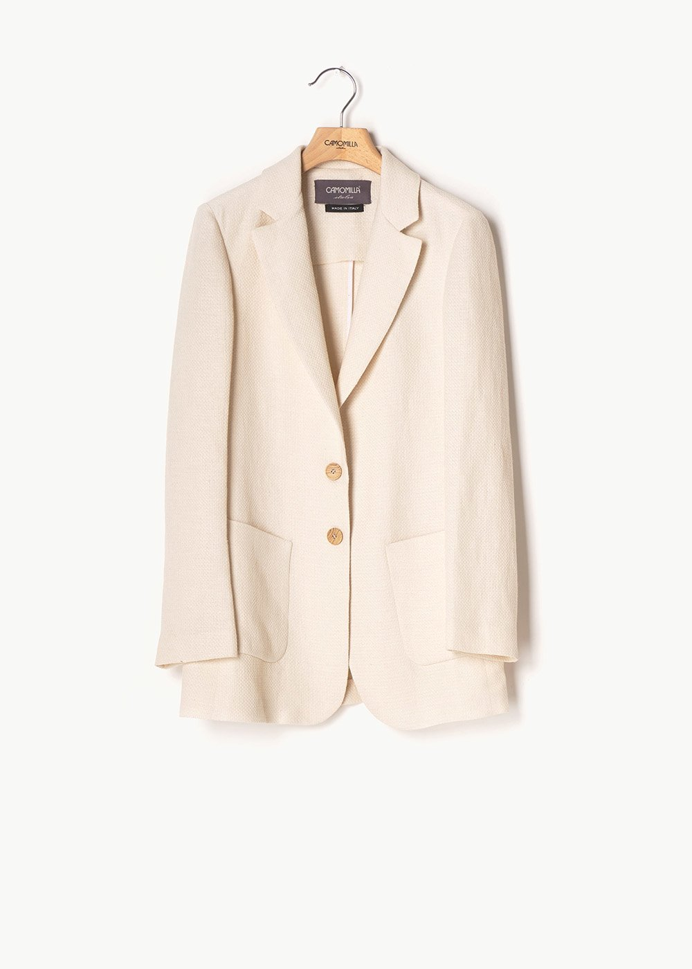 Giuly suit jacket with matting effect - Ginger - Woman