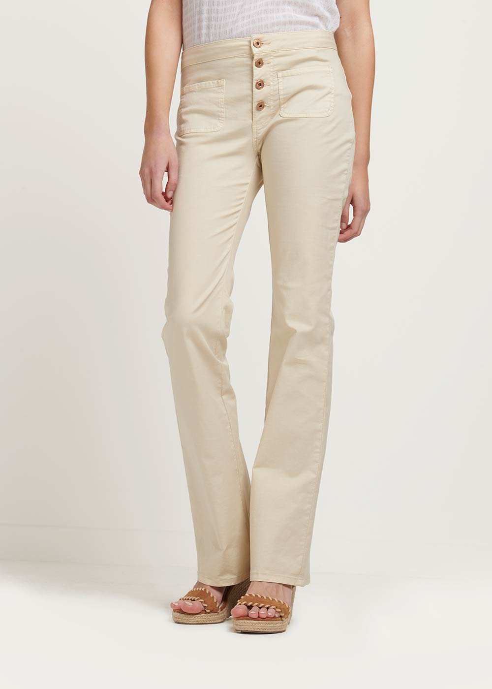 Victoria trousers with small pockets - Ginger - Woman