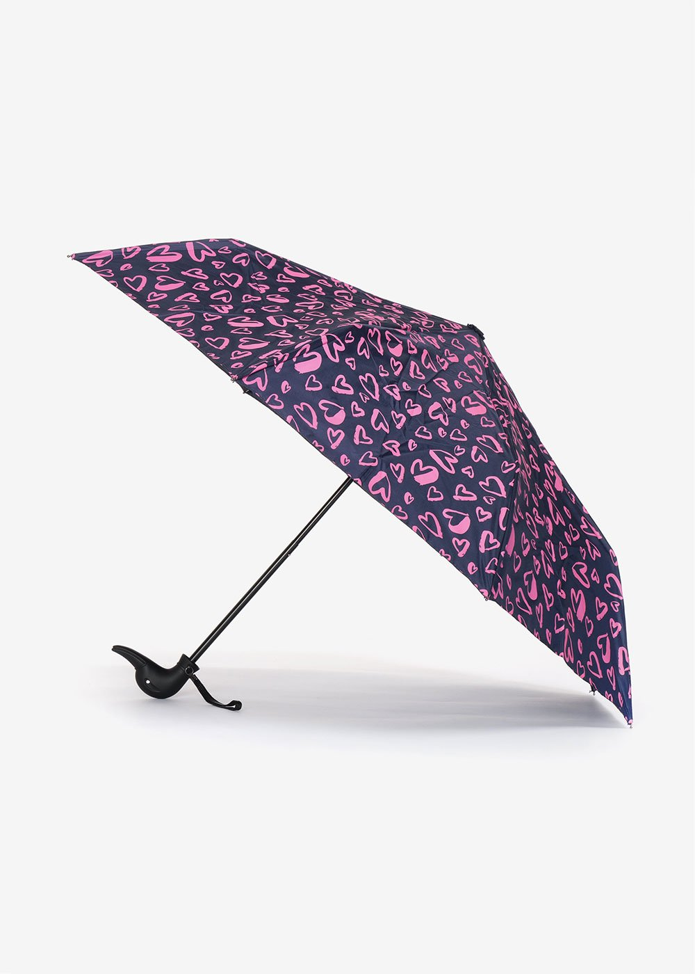 Heart umbrella - Medium Blue / Gloss Fantasia - Woman