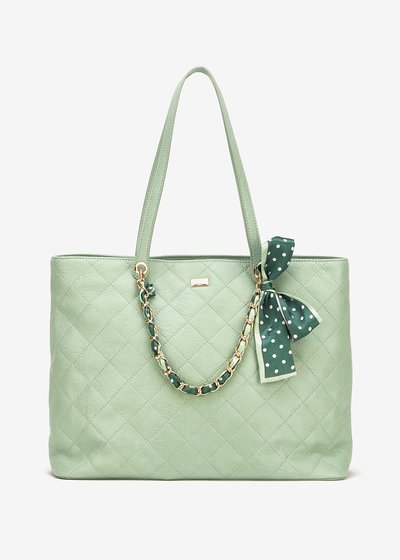 Bree quilted shopping bag