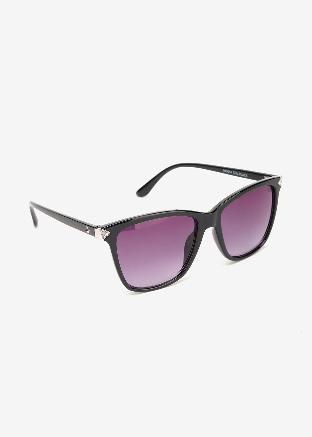 Sunglasses with square lenses - Black - Woman