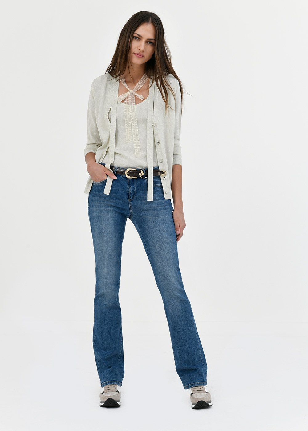 Daniel flared denims - Denim - Woman