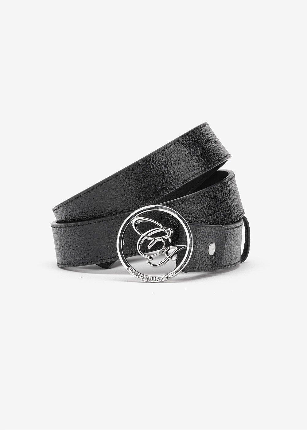 Cintura Candy con logo CI - Black - Donna