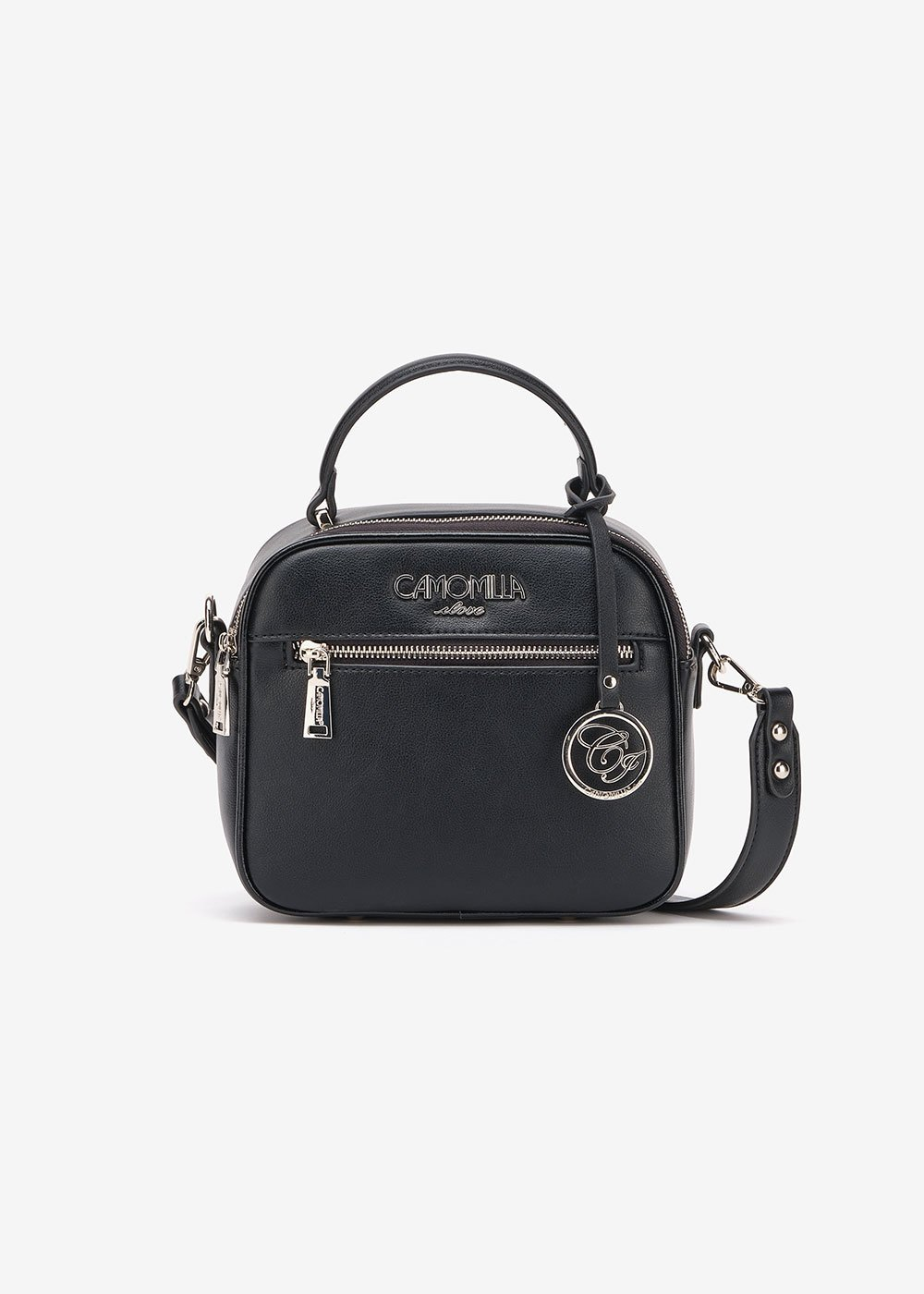 Byl bag with shoulder strap - Black - Woman