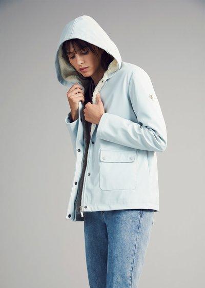 Gareth jacket with inner fur