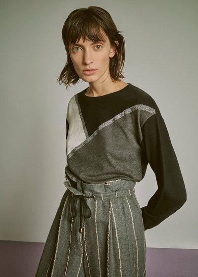 Madlen tricolour sweater
