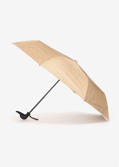 Rose gold print umbrella