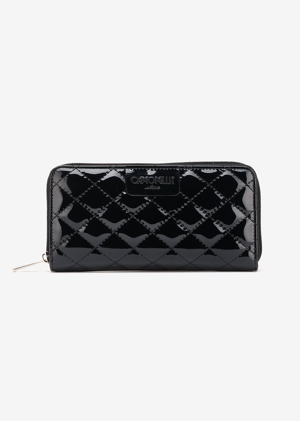Pick quilted wallet - Black - Woman